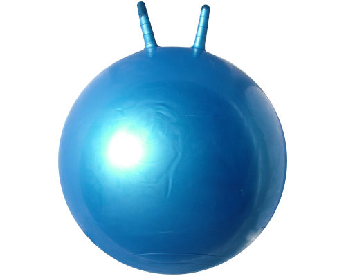 Plain Blue 55cm Space Hopper