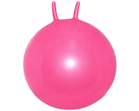 Plain 61cm Adult Space Hopper Pink