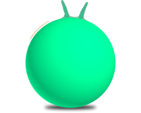 Plain 66cm Adult Space Hopper Green