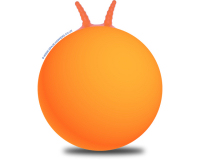Plain 66cm Adult Space Hopper Orange