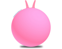 Plain 66cm Adult Space Hopper Pink