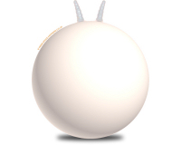 Plain 66cm Adult Space Hopper White