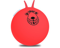 66cm Adult Retro Space Hopper Red