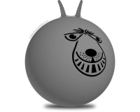 66cm Adult Retro Space Hopper Silver