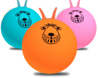 3x 80cm Adult Retro Space Hopper Trio Multipack & Pump