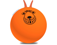 Retro Orange 80cm Adult Space Hopper
