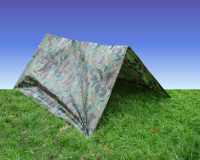 Army Camouflage Tarpaulin 2.4m x 1.8m (approx) Den Kit