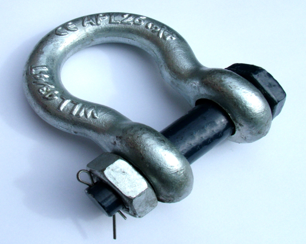 Bow Shackle (D Shackle)