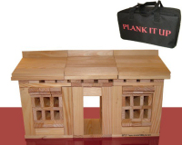 Plank It Up Wooden Construction Blocks (100 Piece)