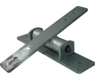 Commercial Seesaw Hinge Bearing Bracket (Cross)