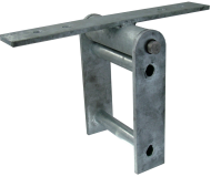 Commercial Seesaw Hinge Bearing Bracket (Overhead Single Axis)
