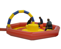 Space Hopper Race Track (Medium Ring) Fairground Coloured