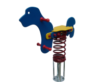 Commercial Rocking Dog (Spring Toy)