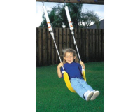 Spring Swing with Belt Seat