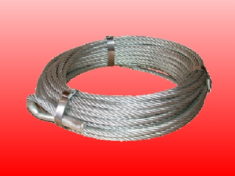 Garden Zip Wire - 6mm Steel Zip Wire Cable 25m