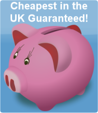 Cheapest In The UK Guaranteed!